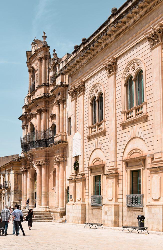 Scicli-palazzo Comune