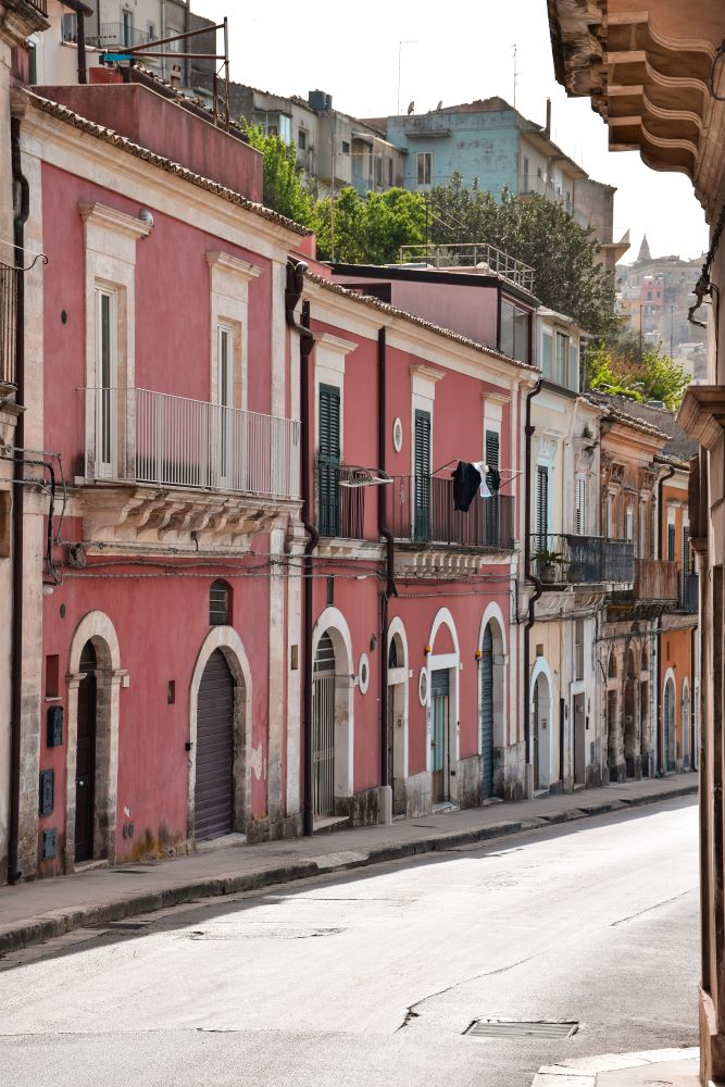 Ragusa-Ibla-case